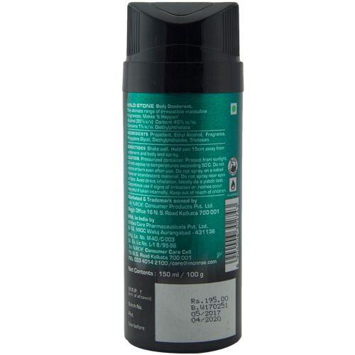 b9bf602fb3b Buy Wild Stone Body Deodorant - Hydra Energy 150 ml Online at Best Price. -  bigbasket