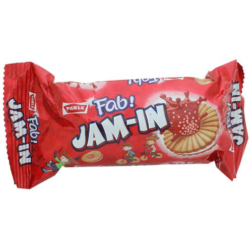 Parle Happy Happy Jam in Cream, 66 g Pouch