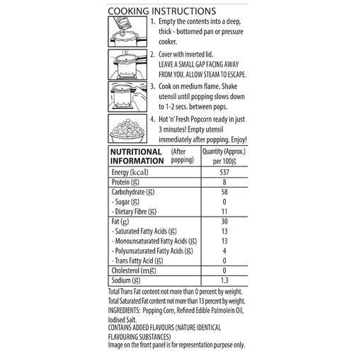 ACT II Instant Popcorn - Tandoori Tadka, 70 g Pouch