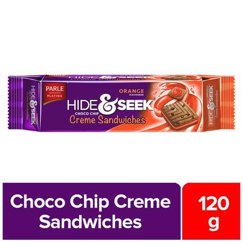 Parle Creams - Hide & Seek Creme Orange, 120 g Pouch