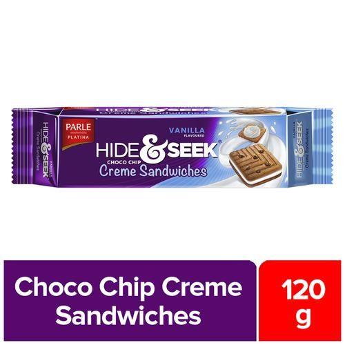 Parle Hide & Seek - Vanilla Creme, 120 g Pouch