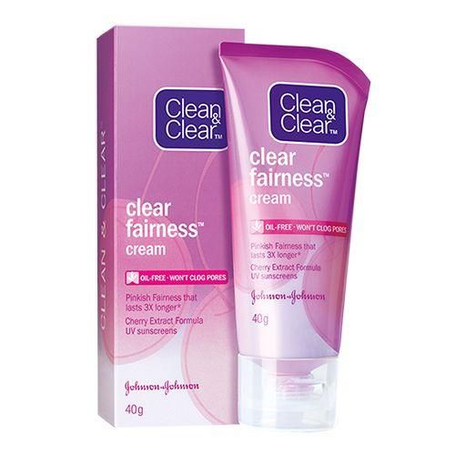 Clean & Clear Clear Fairness Cream, 40 gm