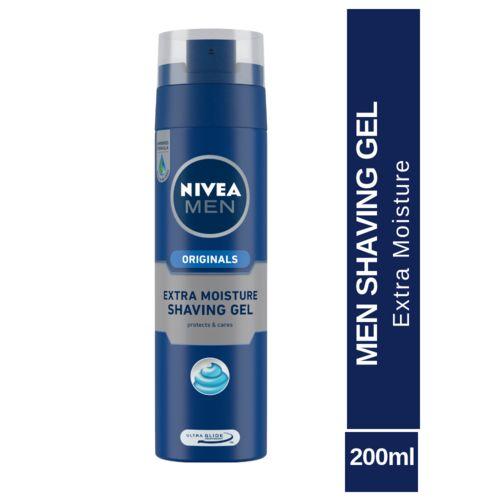 Nivea Extra Moisture Shaving Gel, 200 ml