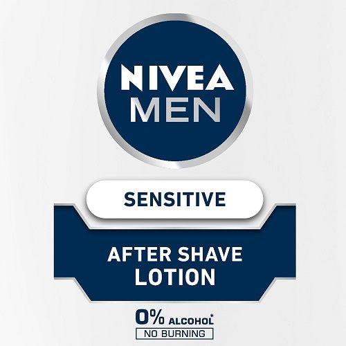 Nivea Men Sensitive After Shave Lotion, 100 ml