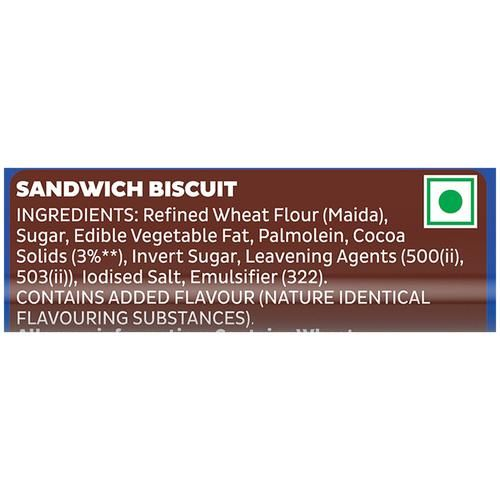 Cadbury Oreo Creme Biscuit - Chocolate, 120 g
