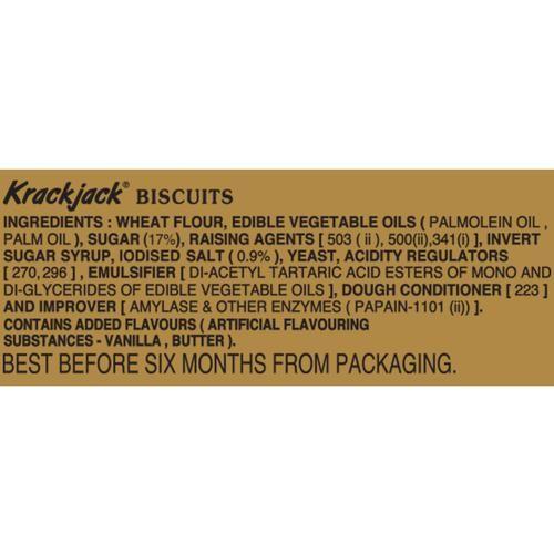 Parle Krackjack Biscuits, 200 g Pouch