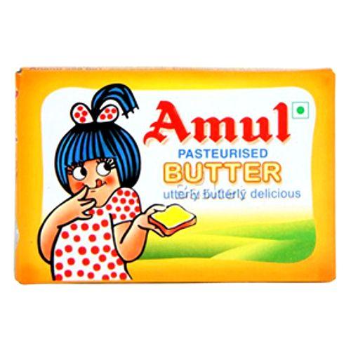 Amul Butter - Pasteurized, 100 g Carton