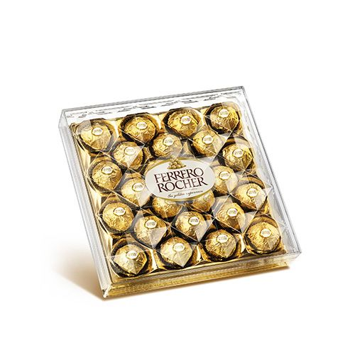 Ferrero Rocher - Chocolate (24 pcs) 300 gm Box: Buy online at best ...