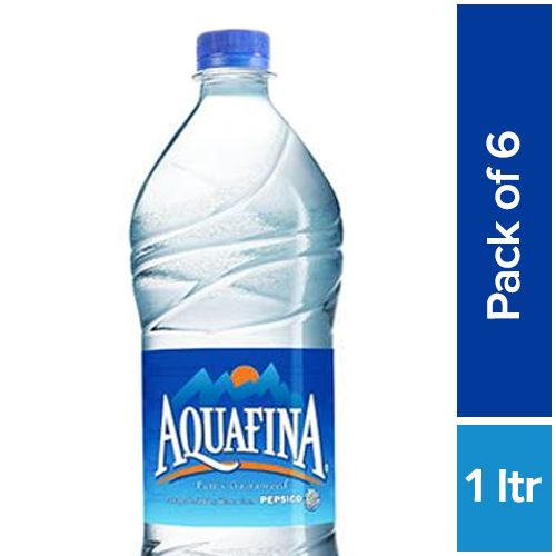 94e7f7f5c2 Buy Aquafina Water 6x1 ltr (Multi Pack) Online at Best Price. - bigbasket