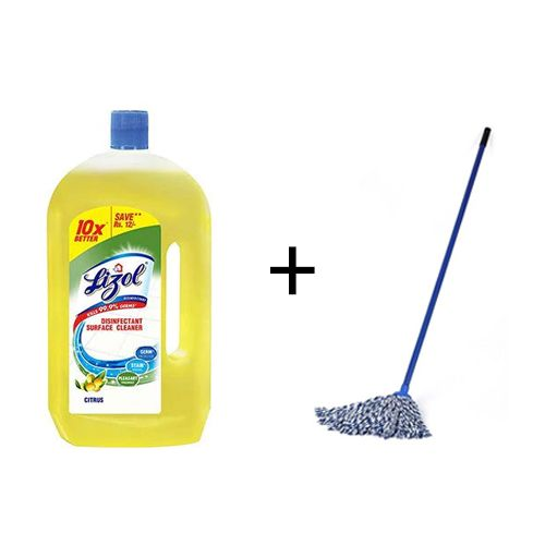 Buy Bb Combo Lizol Floor Cleaner Citrus 975 Ml Gala Mop