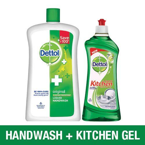 Dettol Kitchen Gel Lime 750 Ml Handwash Original 900 Ml