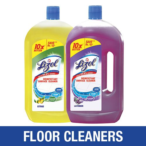 Buy Lizol Disinfectant Surface Cleaner Citrus 975 Ml Floor