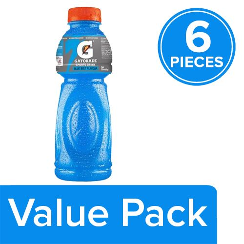 gatorade sports drink blue bolt flavor 500 ml buy. Black Bedroom Furniture Sets. Home Design Ideas