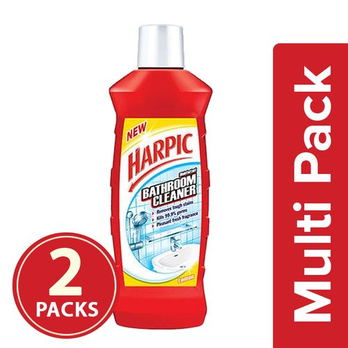Buy Harpic Bathroom Cleaner Lemon 2x500 Ml Multipack