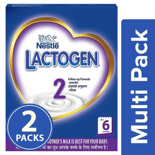 Nestle  Lactogen - Follow Up Formula (Stage 2), 2x400 g Multipack