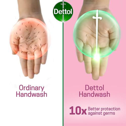 Dettol Handwash - Skin Care, 3x750 ml (Multipack)