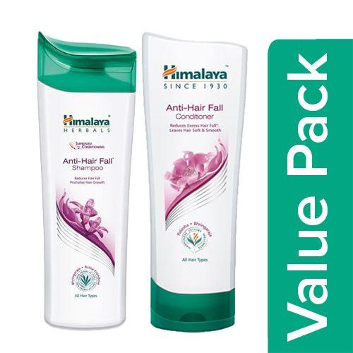 Himalaya Shampoo - Anti Hair Fall 400 ml + Conditioner - Anti-Hair Fall 100 ml, Combo 2 Items