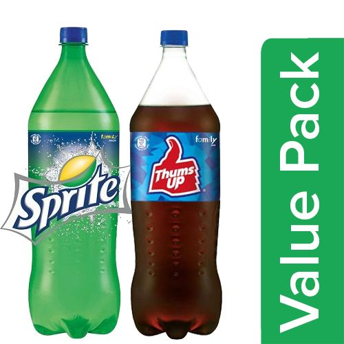 bb Combo Sprite Soft Drink 1.75 L + Thums Up Soft Drink 1.75 L, Combo 2 Items