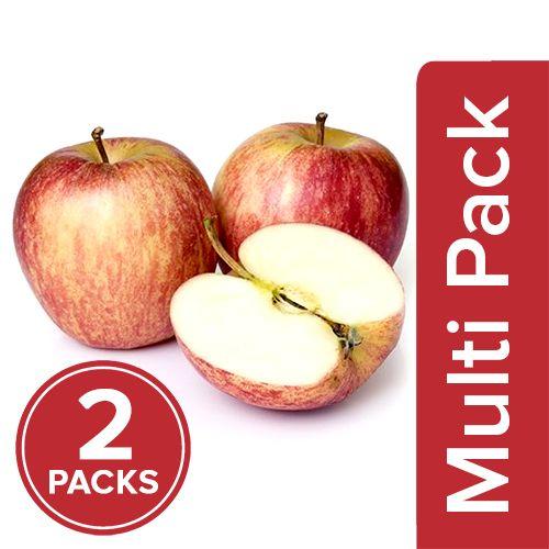 Fresho Apple - Royal Gala, Regular, 2x4 pcs Multipack