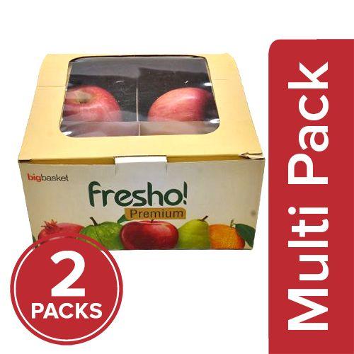 Fresho Apple - Fuji Premium, 2x4 pcs Multipack