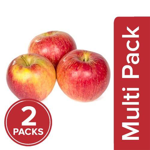 Fresho Apple - Fuji, Regular, 2x4 pcs Multipack