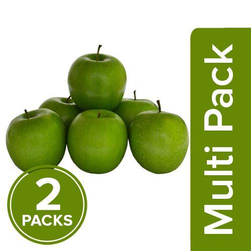 Fresho Apple - Green, Premium, 2x4 pcs Multipack