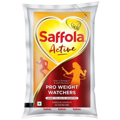 Saffola Active Edible Oil, 2x1 L Multipack
