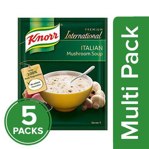 Knorr Soup - Italian Mushroom, 5x41 gm Multipack