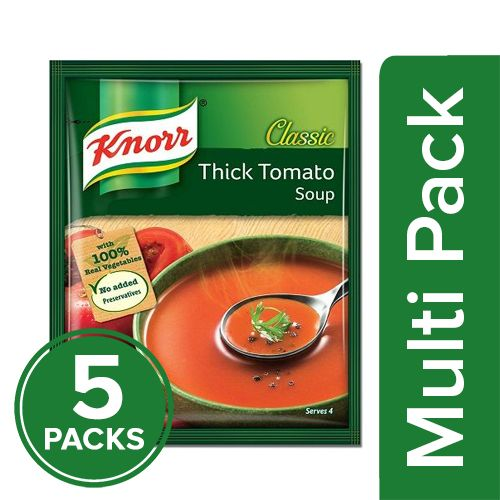 Knorr Soup - Thick Tomato, 5x55 gm Multipack