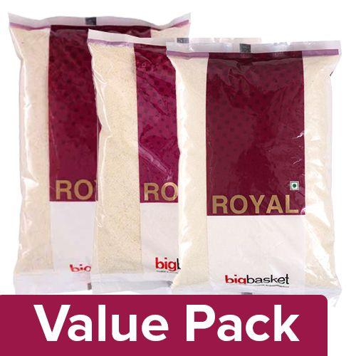 bb Royal Sooji - Ordinary 500 gm + Idli - Sooji 1 kg + Chiroti Sooji 1 kg, Combo 3 Item