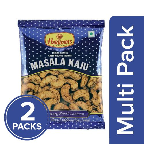 Haldirams  Namkeen - Masala Kaju, 2x35 gm Multipack