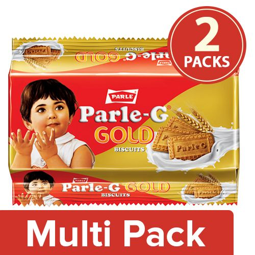 Parle Biscuits - Gluco Gold, 2x200 gm Multipack
