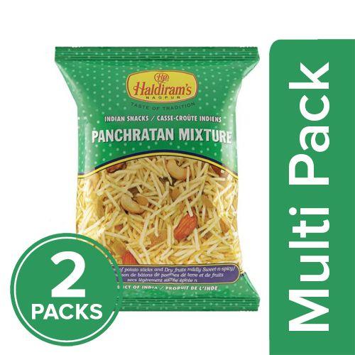 Haldirams  Mixture - Panchratan, 2x150 gm Multipack