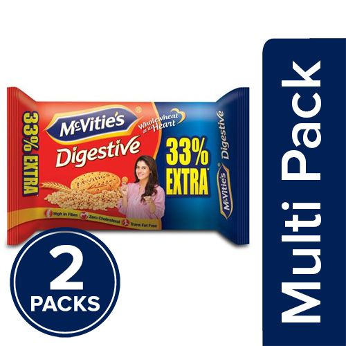Mcvities Digestive Biscuits, 2x150 gm Multipack