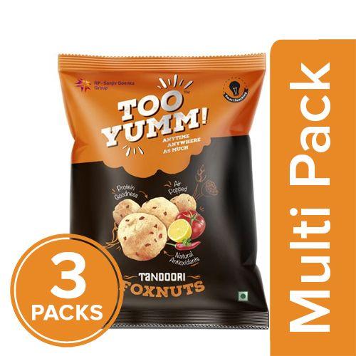 Too Yumm! Foxnuts - Tandoori, 3x23 gm Multipack