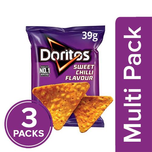 Doritos Sweet Chilli, 3x39 gm Multipack