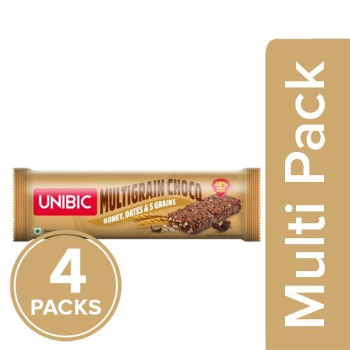 Unibic Snack Bar - Multigrain, Choco, 4x30 g Multipack