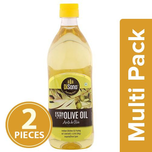 Disano Olive Oil - Extra Light, 2x1 L Multipack