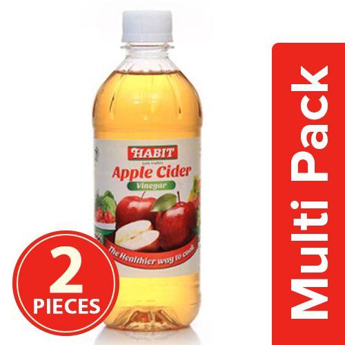 Habit Apple cider vinegar, 2x473 ml Multipack
