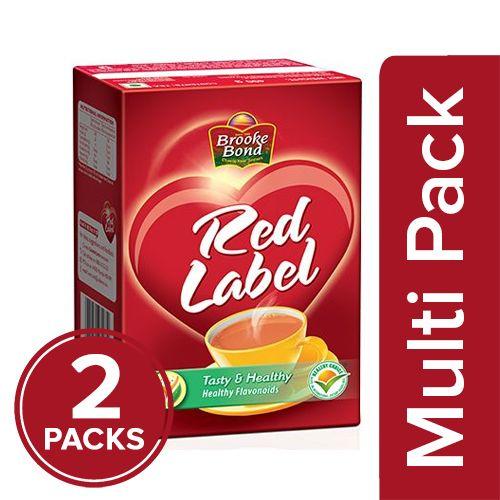 Red Label Tea, 2x500 gm Multipack