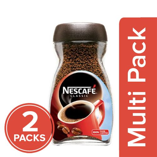 Nescafe  Coffee - Classic, 2x100 gm Multipack