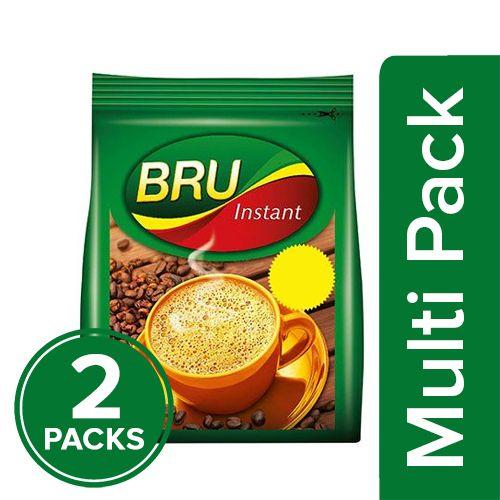 Bru  Instant Coffee, 2x100 gm Multipack