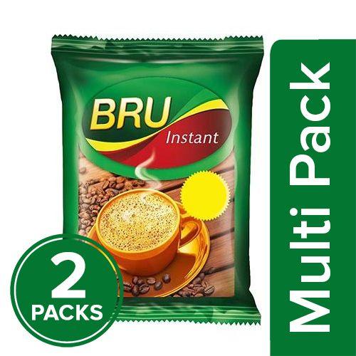 Bru  Instant Coffee, 2x50 gm Multipack