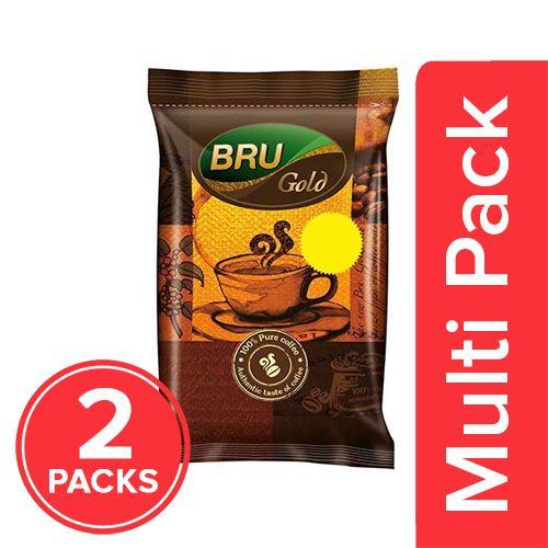 Bru  Instant Coffee - Gold, 2x50 gm Multipack