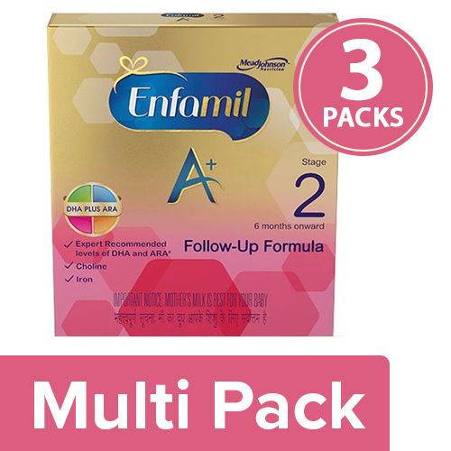 Enfamil Infant Formula - Follow-Up, 6 To 12 Months, Stage 2, A+, 3x800 gm Multipack