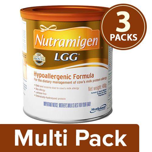 Nutramigen Infant Formula, 3x400 gm Multipack