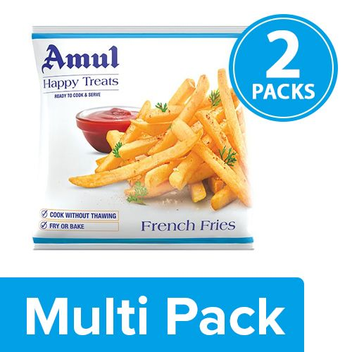 Amul Happy Treats French Fries, 2x200 gm Multipack