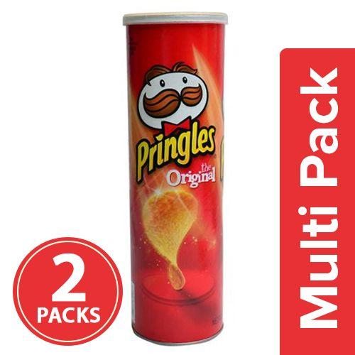 Pringles Potato Crisps - Original, 2x161 gm Multipack