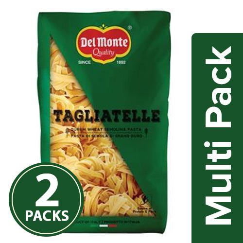 Del Monte Pasta - Tagliatelle, 2x500 gm Multipack
