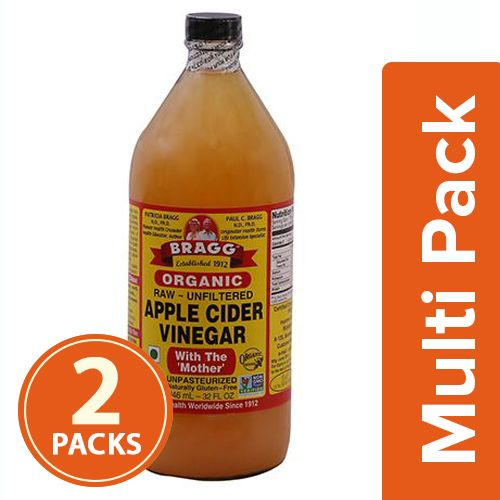 Bragg Organic - Apple Cider Vinegar, 2x946 ml Multipack